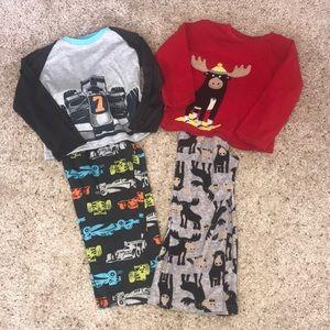 Carter's Pajamas Sets Size 5
